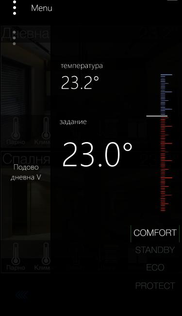 KNX температурен контрол